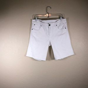 Kut from the Kloth White Jean Shorts! Like NEW!